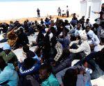 LIBYA TRIPOLI ILLEGAL IMMIGRANTS
