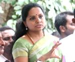 K Kavitha's press conference