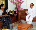K. Kavitha meets Mohammad Mahmood Ali