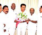 K. Srihari meets K. T. Rama Rao