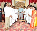 TRS MPs call on ESL Narasimhan