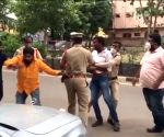 TRS workers attack BJP MP's convoy in Telangana