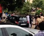 Free Photo:  TRS workers attack BJP MP's convoy in Telangana