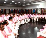 K.T. Rama Rao at TRS meeting