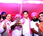 K. T. Rama Rao at TRS meeting in Telangana