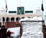 File Photos: Trucks at Attari-Wagah border