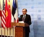 India's Tirumurti presides over UNSC meeting
