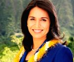 First Hindu Congresswoman, a Democrat, meets Trump