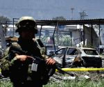 MEXICO TULTEPEC FIREWORKS FACTORY EXPLOSIONS