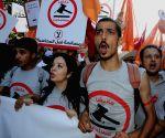 TUNISIA TUNIS DEMONSTRATION