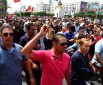 TUNISIA TUNIS ESSEBSI STATE FUNERAL