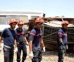 TUNISIA ZAGHOUAN TRAIN ACCIDENT