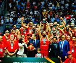 TUNISIA TUNIS AFRICAN BASKETBALL CHAMPION