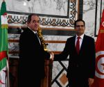 TUNISIA TUNIS FM ALGERIA FM MEETING