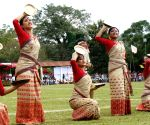 100 Drums Wangala Festival  - Bihu performance