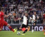 ITALY-TURIN-SOCCER-CHAMPIONS LEAGUE-JUVENTUS VS BAYER LEVERKUSEN