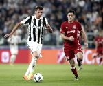 ITALY TURIN SOCCER CHAMPIONS LEAGUE JUVENTUS OLIMPIACOS