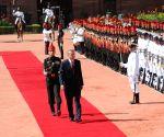 Ceremonial Reception for Turkish President at Rashtrapati Bhavan