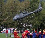 BOSNIA AND HERZEGOVINA-TUZLA-NATO EXERCISE-RESCUE
