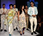 Aartivijay Gupta show at Lakme Fashion Week Summer/Resort 2013 Day 2