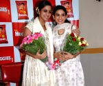 TV actors Smita Bansal and Gutami Kapoor at the Huggies event in Mumbai