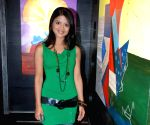 TV artist Rashmi Pitre's art exhibtion.