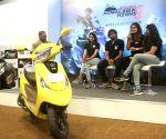 TVS Motor Vice-President with Himalayan Highs Season 3 finalists