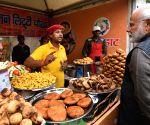 BJP's Bihar campaign begins with Modi relishing 'Litti Chokha'
