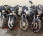 Free Photo: Gurugram: Two bike lifters arrested, six vehicles recovered