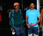 Indian climbers Ramesh Roy, Rudra Prasad Halder arrive at NSCBI airport
