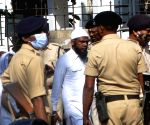 :Patna:Two of Nine convicts in the 2013 Gandhi Maidan serial blast case taken by police after the special NIA court convicted nine out of Ten accused ,