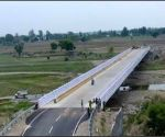 Free Photo: Two of the six critical bridges, built by the BRO in Jammu region, that will be inaugurated by Defence Minister Rajnath Singh on Thursday.