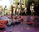 Five UP police personnel attacked while trying to stop party