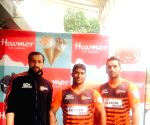 U Mumba players during a programme