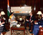 U.S. Commerce Secretary Wilbur Ross meets Nirmala Sitharaman