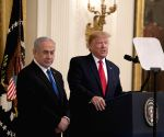 U.S. WASHINGTON D.C. TRUMP ISRAEL NETANYAHU PRESS CONFERENCE