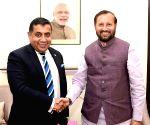 Lord Tariq Ahmad of Wimbledon meets Union Minister Prakash Javadekar