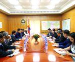 Ulan Bator (Mongolia): Kiren Rijiju meets Mongolian Dy PM