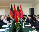 MONGOLIA ULAN BATOR CHINA LI KEQIANG GERMAN MERKEL MEETING