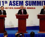MONGOLIA-ULAN BATOR-ASEM SUMMIT