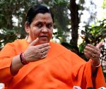 Lord Shiva took 'demon' Dubey's life: Uma Bharti