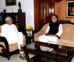 Radha Mohan Singh calls on Nitish Kumar
