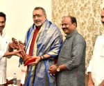 Giriraj Singh meets Andhra CM