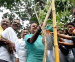 World Environment Day - Ananth Kumar plants a sapling