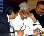 Sriprakash Jaiswal during an interactive sesion of Merchant Chamber of Commerce