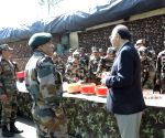 Defence Minister visits LoC, praises soldiers