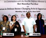 "Parrikar at ""Parivartan in Defence Sector: Changing Role & Opportunities for Women"