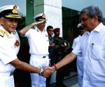 Parrikar during Naval Commanders' Conference