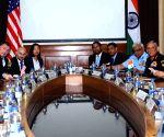 Delegation-level talks - Nirmala Sitharaman, James Mattis