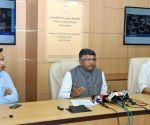 Ravi Shankar Prasad launches a website on NDA Government.